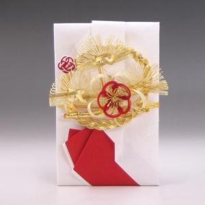 結納金だけの結納品(金封・祝儀袋)【花の舞】(Red)袋のみ|yuinou-com