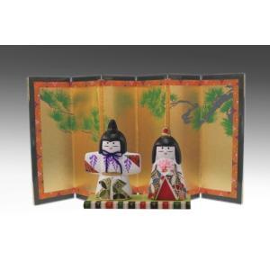 屏風 雛人形・結納用 金屏風単品・8号松柄/高さ24cm|yuinou-com|06