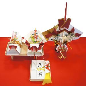 yuinou320 結納品の結納セット 三品目 結納金と指輪とお酒のご結納品(長熨斗と目録と毛氈付き) yuinou-mizuhiki