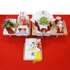 yuinou505 結納品の結納セット 五品目 結納金と酒肴料と指輪と末広と長熨斗のご結納品(長熨斗と目録と毛氈付き)|yuinou-mizuhiki