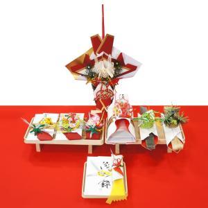 yuinou707 結納品の結納セット 七品目 結納後に松竹梅の水引飾りを飾れる結納品(酒代含む)|yuinou-mizuhiki