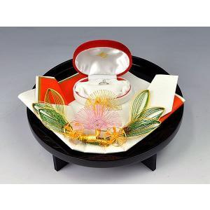 指輪・記念品用飾り台(琥珀黒塗台セット用)|yuinouyasan