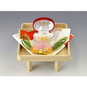 指輪・記念品用飾り台 (琥珀白木台セット用)|yuinouyasan