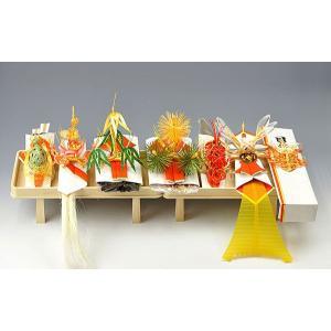 結納金なしの結納 関東式琥珀(こはく)白木台セット 7点 送料・代引き手数料無料・代書無料|yuinouyasan