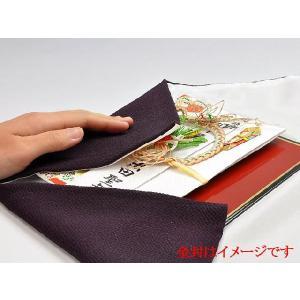台付袱紗(ふくさ)中 正絹ちりめん(紫)|yuinouyasan