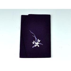 金封袱紗(ふくさ) ちりめん 紫蘭|yuinouyasan