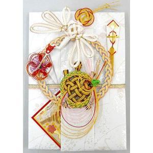 筆耕無料・結納屋さんの金封(ご結婚・一般お祝い)10〜100万円に最適 祝儀袋HM285(鶴亀1:直書き)|yuinouyasan
