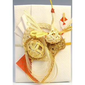 筆耕無料・結納屋さんの金封(ご結婚・一般お祝い)10〜100万円に最適 祝儀袋HM288(鶴亀2・金:直書き)|yuinouyasan