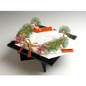 松鶴指輪・記念品用飾り台(黒塗台足付)|yuinouyasan