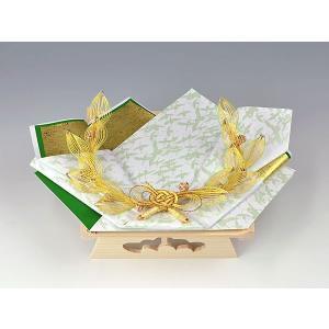 指輪・記念品用飾り台 (白木台足付 結納返し用)|yuinouyasan