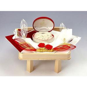 指輪・記念品用飾り台(関東式わたゆきセット用)(白木台足付)|yuinouyasan