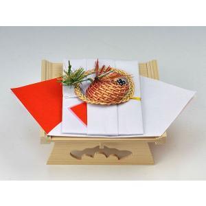 鯛料金封(鯛飾・白木台付)|yuinouyasan