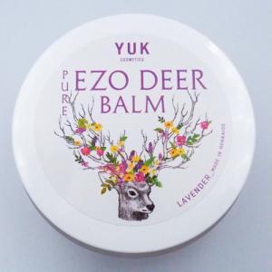 【YUK リモートワーク応援キャンペーン 20%OFF 6月末まで】PURE EZO DEER BALM|yuk-hokkaido