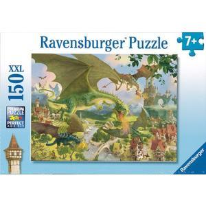 ジグソーパズル150P ドラゴンの旅 / Ravensburger/対象年齢7才〜|yukainasakana