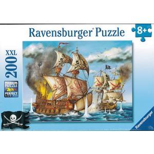 ジグソーパズル200P 海賊船 / Ravensburger/対象年齢8才〜|yukainasakana