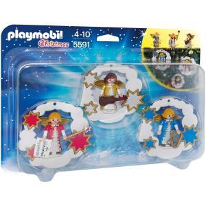 プレイモービル Playmobil クリスマスオーナメントセット5591 アウトレット品|yukainasakana