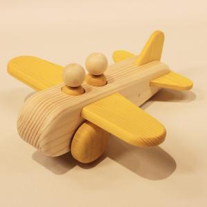 ぼくのひこうき 黄(Air Plane-Yellow)9612-Yel/アトリエ・ルーツ(Atelier ROOTS)/黒川昌樹(Masaqui Kurokawa)|yukainasakana