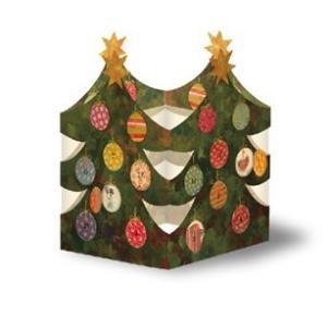 ドイツ製 立体アドベントカレンダー クリスマスツリー ランタン|yukainasakana