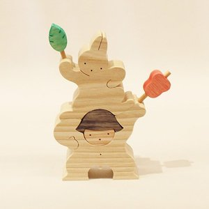 小黒三郎(おぐろさぶろう) 五月人形 KK109 軍配を持つ金太郎とウサギ|yukainasakana