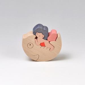 小黒三郎(おぐろさぶろう) 五月人形 KK135 鯉乗り金太(小)|yukainasakana