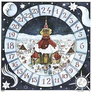 ドイツ製 アドベントカレンダー ザイフェン教会 KV11451|yukainasakana