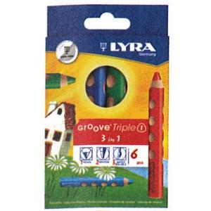 LYRAリラ GROOVEグルーヴトリプルワン6色セット ラッピング無料サービス