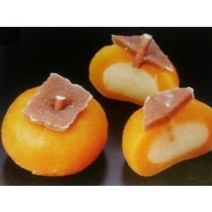 まるごと柿餅 15入 (約3×2.5cm 約17.6g/ヶ 和菓子 業務用 柿 カキ かき) [冷凍]|yukawa-netshop