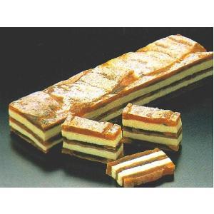 柿博多サンド (約2.5x5x18cm 約210g/本 干し柿 バターサンド) [冷凍]|yukawa-netshop