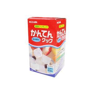 かんてんクック 80g 【4g×20袋】 (スティック 粉末 寒天) [常温限]|yukawa-netshop