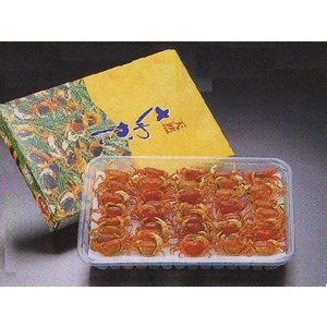 沢がに  味付 40入 (沢蟹  さわがに  国産) [冷凍] yukawa-netshop
