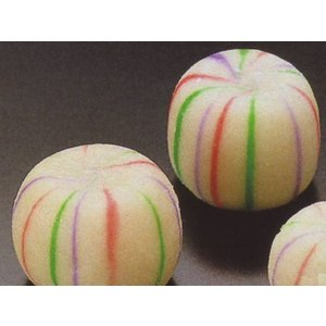 生麸 手まり麸 【大】約290g 22個入 (直径約2.5×2.2cm/ヶ なまふ てまり 手毬) [冷凍]|yukawa-netshop
