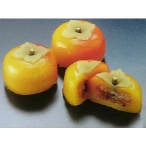 花餅【柿】 15入 (はなもち カキ かき 和菓子 業務用) [冷凍]|yukawa-netshop