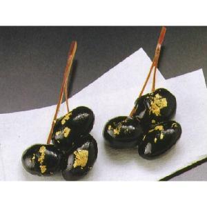 金箔松葉 40入 おせち単品 (黒豆) [冷凍]|yukawa-netshop