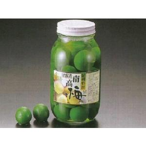 青梅 甘露煮 M 瓶入(約25〜30入 固形量:約500g 瓶込:約1.45kg 国産 南高梅 青色 青 梅) [常温]|yukawa-netshop