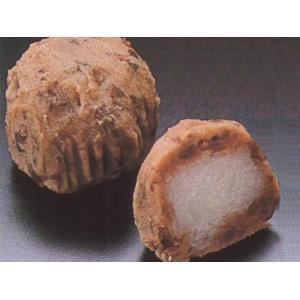 ミニおはぎ 15入 (直径約3x2.5cm 約23g/ヶ おはぎ 御萩 つぶあん 和菓子) [冷凍]|yukawa-netshop