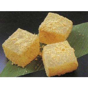 わらび餅 きな粉 1kg×12入【ケース販売】 (わらびもち きなこ 業務用 和菓子) [冷凍]|yukawa-netshop