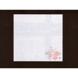 4寸雲竜敷紙 さくら 100枚入 (3月〜4月 桜 サクラ 雲竜和紙) [常温限]|yukawa-netshop