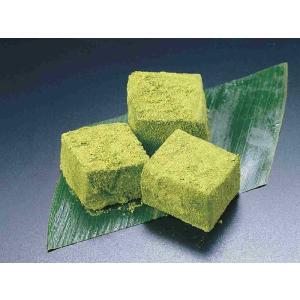わらび餅 抹茶 1kg×12入【ケース販売】 (わらびもち まっちゃ 業務用 和菓子) [冷凍]|yukawa-netshop
