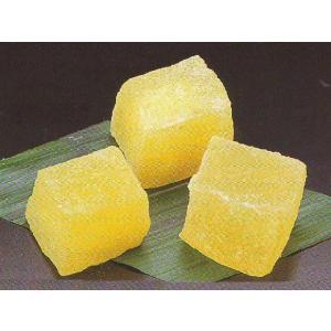 わらび餅 ゆず 1kg (わらびもち 柚子 業務用 和菓子) [冷凍]|yukawa-netshop