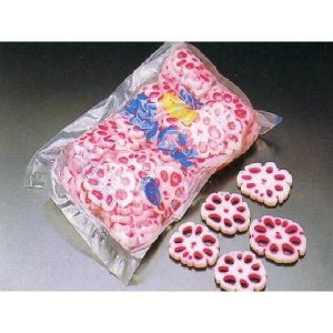 梅花れんこん 800g (φ約6×0.7cm/枚 約50〜55枚入 蓮根 レンコン 甘酢漬 梱包込:約1.7kg) [冷蔵]|yukawa-netshop