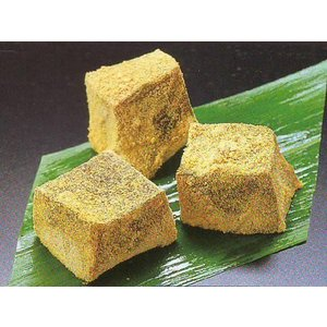 わらび餅 黒糖 1kg (わらびもち こくとう 業務用 和菓子) [冷凍]|yukawa-netshop