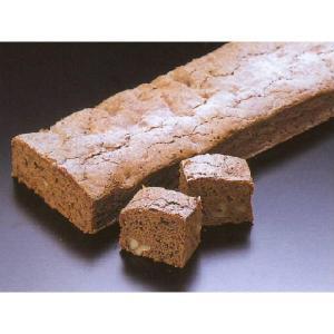 角型ブラウニーケーキ デザート (チョコレート ケーキ フリーカット) [冷凍]|yukawa-netshop