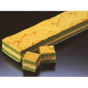 キャラメル抹茶ケーキ デザート (キャラメル 抹茶 ケーキ フリーカット) [冷凍]|yukawa-netshop