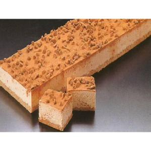 シートチョコチップムースケーキ デザート (チョコレート ケーキ フリーカット) [冷凍]|yukawa-netshop