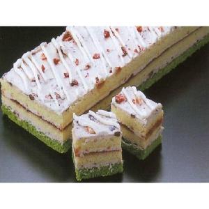 小倉いちごケーキ デザート (餡 あんこ ストロベリー ケーキ フリーカット) [冷凍]|yukawa-netshop