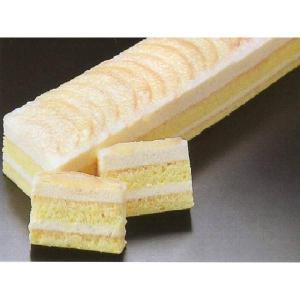 桃のムースケーキ デザート (もも ピーチ ムース フリーカット ケーキ) [冷凍]|yukawa-netshop