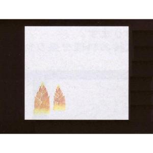 4寸雲竜敷紙 たけのこ 100枚入 (3月〜4月 筍 タケノコ 雲竜和紙) [常温限]|yukawa-netshop