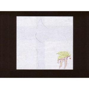 4寸雲竜敷紙 ふじ 100枚入 (4月〜5月 藤 雲竜和紙) [常温限] yukawa-netshop