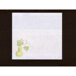 4寸雲竜敷紙 ひょうたん 100枚入 (6月〜8月 瓢箪 ヒョウタン 雲竜和紙) [常温限] yukawa-netshop