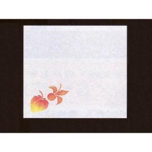 4寸雲竜敷紙 ほうずき 100枚入 (6月〜8月 ホウズキ 雲竜和紙) [常温限]|yukawa-netshop